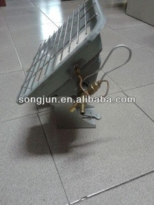 Portable Gas Infrared Gas heater ,two stone and 2 Ceramic Plates heater