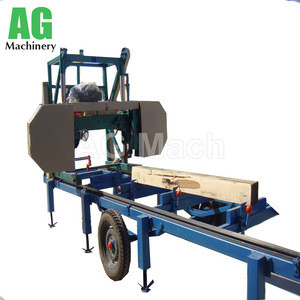 Portable Horizontal Bandsaw Mill Machine automatic band saw for sale