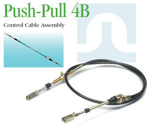 Push pull control cable for agricultural equipment