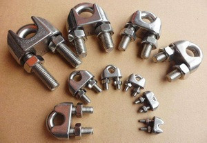 Rigging Hardware Accessories DIN741 Wire Rope Clip