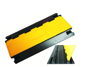 Import rubber deceleration strip rubber speed bumps for sale deceleration strip from China