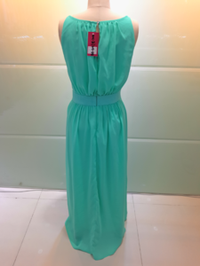Summer Autumn 2017 Women Fashion Beaded Scoop Waist Sexy Long Wedding Dress gowns elegant Homecoming Dress