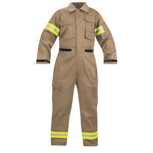 Waterproof and fireproof fireman protective uniform