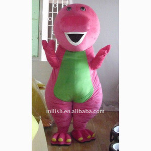 Wholesale factory cartoon barney Mascot costumes MAE-0097