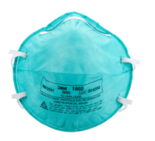 3 M 1860 8210 nose mask N 95 fa mask