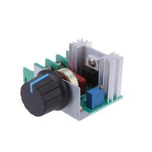 2000W Thyristor Governor Motor 220V High Power Electronic Voltage Regulator, Dimming, Speed Regulation, Temperature Regulation