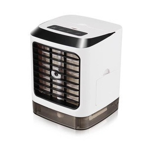 2019 new coming air cooler mini air cooling fan portable air cooler with usb rechargeable and water pray