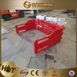 2.5ton CE TUV Lifting Revolving Bale Clamp for Forklift Attachment