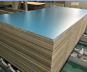 4*8 feet 18mm double side melamine laminated particle board