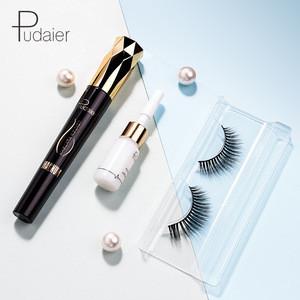 4D Charm Simulation Natural False Eyelashes+Mascara Set