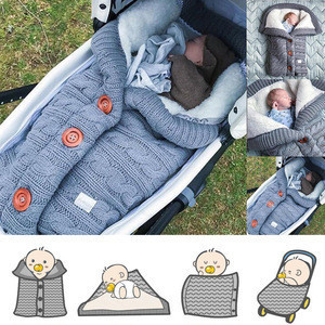 Baby new design cloth organic cotton warmed breathable sleep bag  newborn baby stroller Accessories sleeping bag