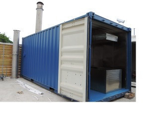 CE Contingent 100% Ash Back Human Cremation Machine Vehicle Based Solution Short Time Burning No Smoke Crematory