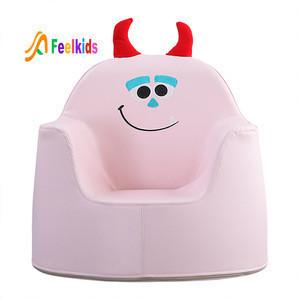 Children room PU leather chair seat kindersessel cartoon safety mini sofa princess chair for kids