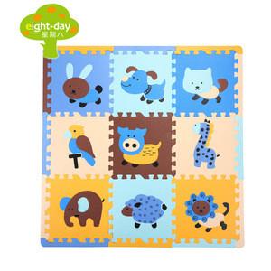 Competitive price eva printing animal foam puzzle mat for Yoga centres