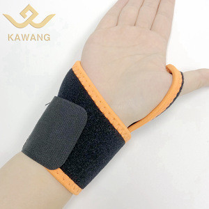 Custom elastic winding compression breathable wrist protector