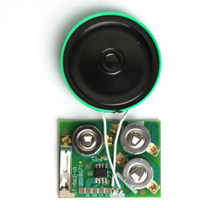 Custom speaker music chip sound module sound control module for greeting card