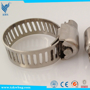 DIN 316L stainless steel hose clamp/hose hoop/clamp