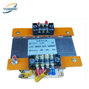Dry type single phase 220V 12V 15V 35V power transformer 50VA  with pure copper winding support OEM ODM