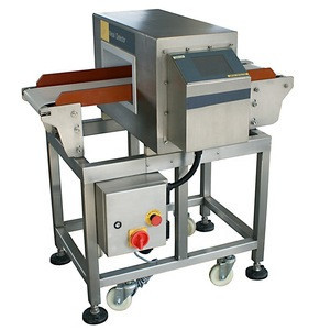 Easy to instal SUS304 food industrial metal detector gold for protein bar and date bar