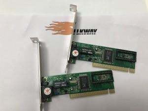Green pcba pci express network card 1.0version