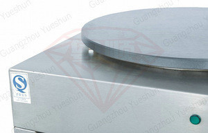 Guangdong single Plate Electric Crepe Maker/Double Crepe Machine/crepe pancake maker
