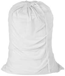 Laundry Bag White Mesh 0001
