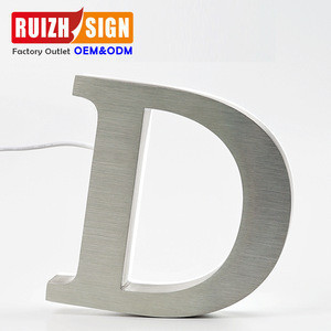 LED Low energy consumption commercial Electronic Signs 3D LED illuminated advertising letters signs