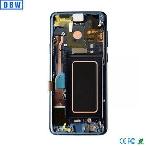 Mobile phone lcd For samsung galaxy s9 lcd digitizer, spare parts For samsung galaxy s9 display
