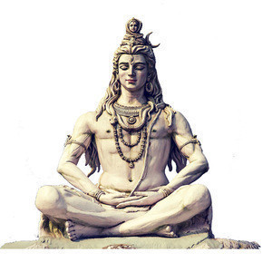 Modern Outdoor Decorative Hindu God Stone Carvings Lord Shiva Sculpture Hand-carved Marble Statue Of Shiva NTMS0517R