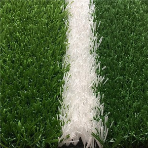 Non-fill 30mm height artificial turf grass for outdoor football pitch with CE SGS certification
