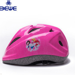Novelty Low MOQ Design Your Own Colorful Cheap Bicycle Helmet For Kids