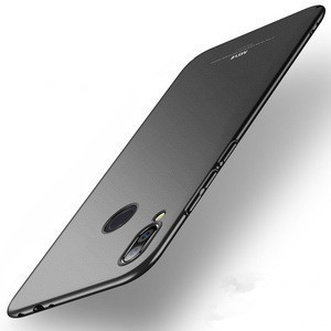 Original MSVII Luxury Ultra Thin Hard Matte Smooth Solid Protective Shell Skin Back Cover Phone Case For Xiaomi For Redmi Note 7