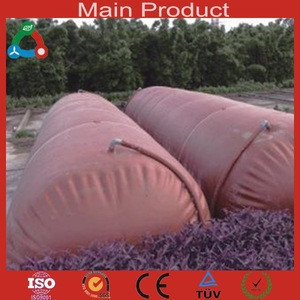 Portable Soft 10m3 PVC Domestic Biogas
