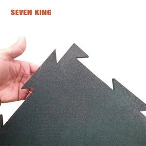Rubber tactile paving tile