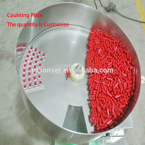 Semi-automatic Tablet Capsule Counting Machine Pill Counter