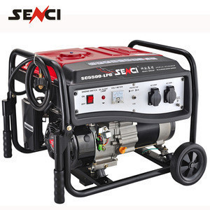 Senci brand Natural Gas Generator small gas turbine generator for sale