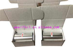 Silver  aluminum foil for hair salon beauty highlighting use with size 12cm  x250m