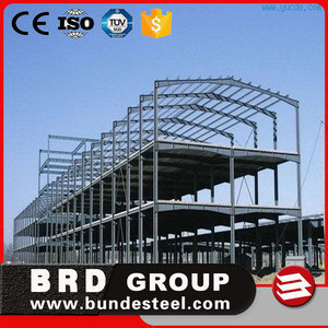 Steel Welding Service Heavy Steel Structure for Large Building