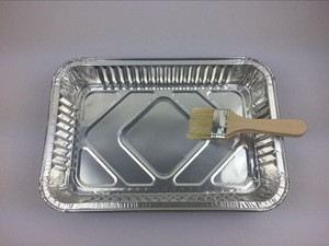 Takeaway Aluminum Foil Microwave  Heater Container Plate