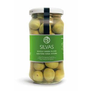 Whole Green Olives SILVAS