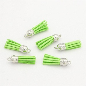 Wholesale cheap customized colorful tassel for textile accessories and craft