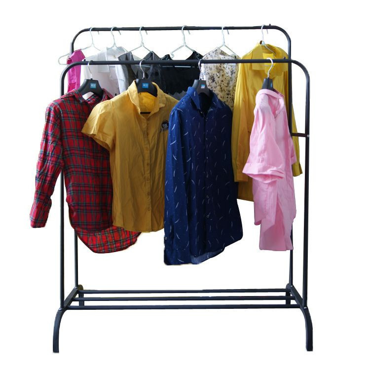 Wholesale factory price second hand clothing of lady cotton blouse used clothes bales