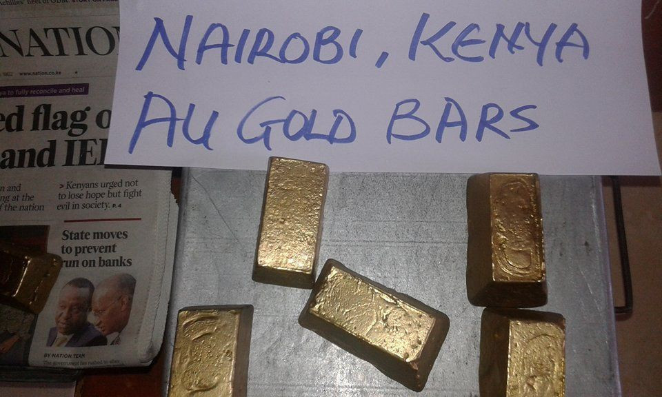 AU  Gold Dore Bars And Nuggets