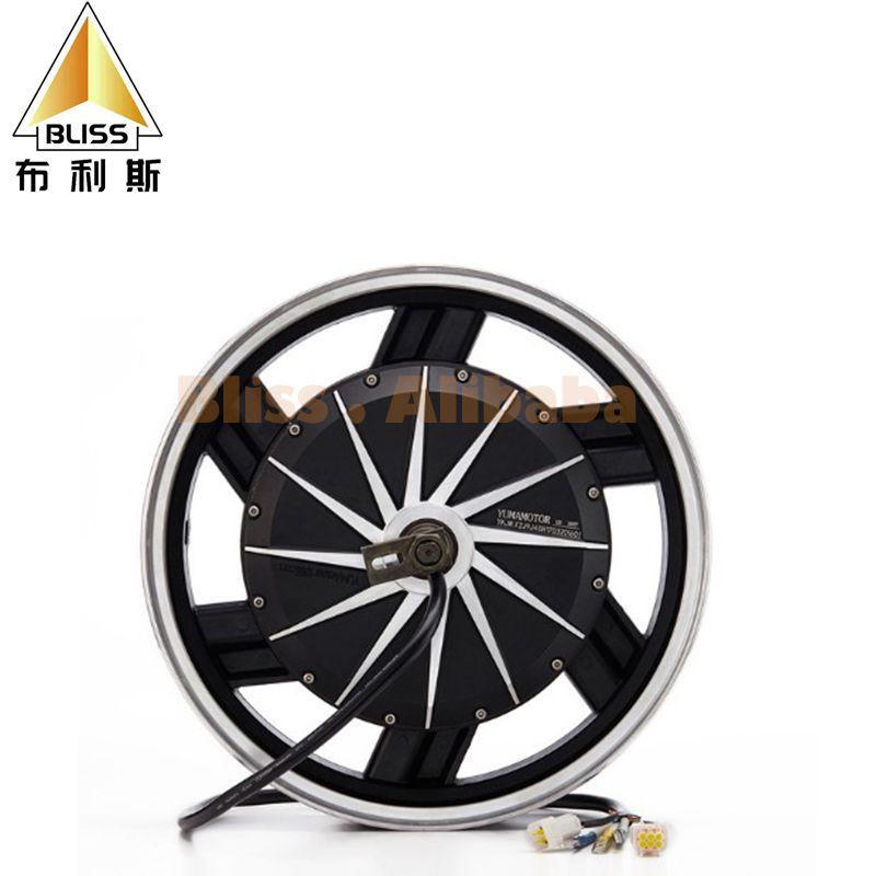 Electric motor wheel hub 3000W 60-120V motor controller hub motor motorcycle electric scooter kit