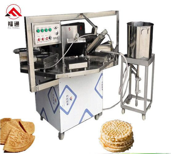 Waffle biscuit making machine sugar cone machine
