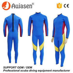 4-9mm Quality neoprene scuba diving and surfing wetsuits for men