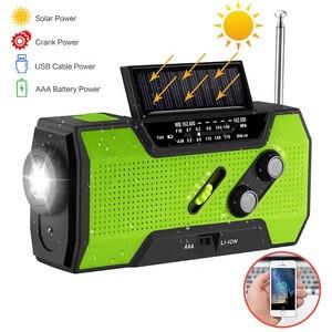 Amazon Wholesale Premium Dynamo Rechargeable Radio With Flashlight