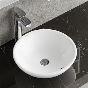 ARROW brand Hot Sale square shape upper counter high glossy glazed bathroom sink wash ceramic basin
