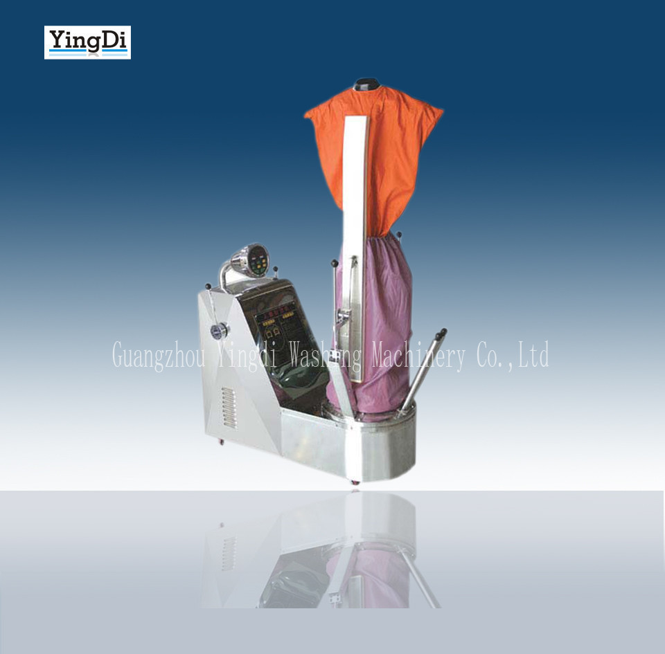 Automatic Clothes steam ironing machine for laundry shop equipments