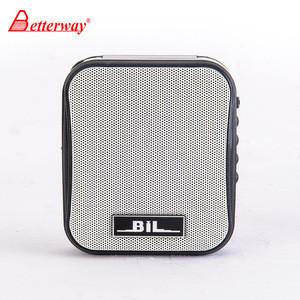 BETTERWAY SH-178 2018 innovative product wireless UHF portable mini voice amplifier speaker for teachers speech
